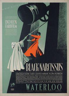Black Narcissus (Michael Powell & Emeric Pressburger, 1947) German design