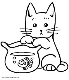 79 best favorite cat colouring pages images on pinterest cat