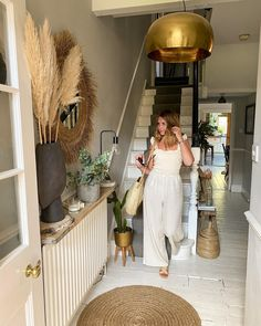 Its our 16 year wedding anniversary today not sure how that happened I still feel 21 most days Were heading to the beach for fish and chips and a paddle in the sea! #sandytoesandsaltykisses #weddinganniversary   #hallwaydecor #homedecor #entrancedecor #hmxme @hm #dunelondon @dune_london #jumpsuit #linen #myhometoinspire #whitefloor #woodenfloor #victorianterrace #victorianhouse