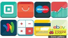 Icon set - #eCommerce - Zizaza item for free