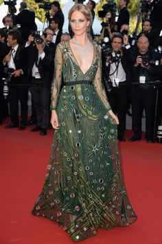 The most glamorous red carpet fashion at Cannes Film Festival: Poppy Delevingne