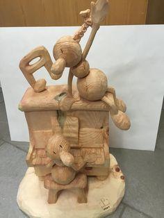 Formiche di Legno #scultura #scultori #formiche #serenata #love #arte