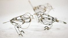 safety pin birds by su blackwell
