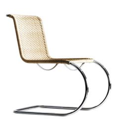 S533 chair. Designed by Ludwig Mies van der Rohe in 1927. #bauhaus