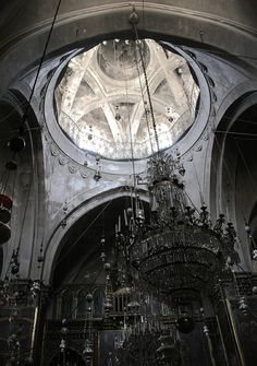 The Cathedral of St. James (Սրբոց Յակոբեանց Վանք Հայոց, or Saint Jacob Armenian Cathedral) in Jerusalem