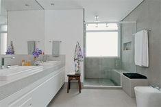 banheiros grandes com armario - Pesquisa Google