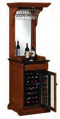 The Tresanti Pinot Wine Cooler Offers Thermoelectric Cooling Technology For A Whisper Quiet And Vibration Free Operation