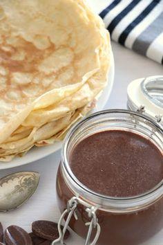 Pâte à tartiner chocolat et noisettes
