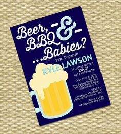 My Baby Shower Theme: Burgers, Beer U0026 Baby Talk | Showers | Pinterest |  Baby Shower Themes, Babies And Couples Baby Showers