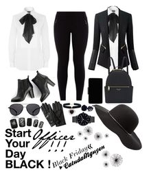 """""""Officer Black Friday !"""" by catudalnguyen on Polyvore featuring Polo Ralph Lauren, SWEET MANGO, Henri Bendel, John Lewis, Charlotte Russe, The Row, Banana Republic, Rock 'N Rose and The Horse"""