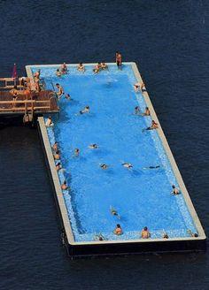 Fernando Menis | Swimming Pool in the Spree River, Berlin