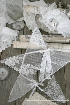 lace star - via nelly vintage home