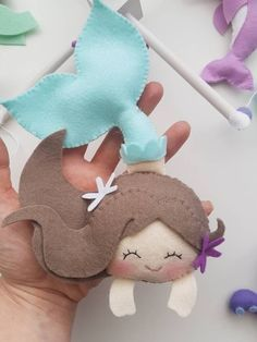 Underwater deep Baby Mobile – Mermaid Mobile – Ocean Mobile – Sea Creatures Mobile- Whale Mobile – Sea Life Mobile – Toys for Baby Felt Crafts Diy, Felt Diy, Baby Crafts, Sewing Crafts, Sewing Projects, Craft Projects, Rosalie, Mermaid Dolls, Felt Patterns