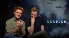 Jack Lowden and Tom Glynn-Carney on Bonding With The Cast. Dunkirk Exclu...