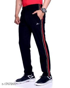 Track Pants Comfy Cotton Men's Track Pant  *Fabric* Cotton  *Size* L - 32 in, XL - 34 in, XXL - 36 in  *Length* Up To 40 in  *Type* Stitched  *Description* It Has 1 Piece Of Men's Track Pant  *Pattern* Solid  *Sizes Available* M, L, XL, XXL *   Catalog Rating: ★4 (2645)  Catalog Name: Stylo Comfy Cotton Mens Track Pants Vol 3 CatalogID_223193 C69-SC1214 Code: 553-1707200-