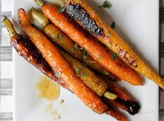 The Lucky Penny Blog: Honey Ginger Roast Carrots and Bad Dog Parenting