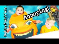 Annoying Orange + Trixie! Cut Scenes of HobbyPig, HobbyFrog Laugh with H...