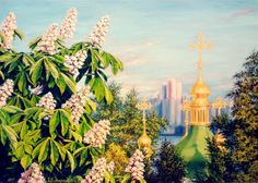 Dreaming about Kyiv Painting: oil on canvas 50 x 70 sm