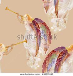 Angels Watercolor Wings Stockfotos und -bilder | Shutterstock