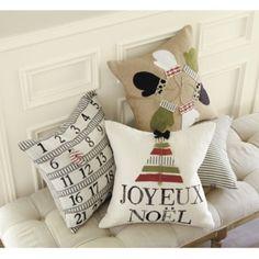home.made.: {Tutorial} Knock-Off Ballard Designs Advent Pillow...
