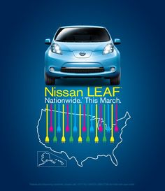 Nissan Leaf March 2012