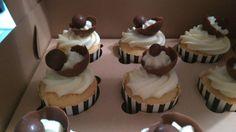 Vanilla butter cream cupcakes