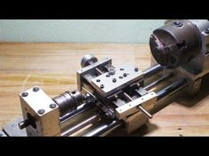 DIY Mini Lathe Chuck Wood Metal Axis Tailstock Homemade Router Spindle H...