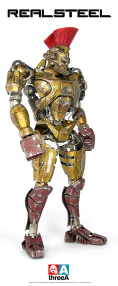 ThreeA-Reel-Steal-Midas-1 Real Steel Midas Revealed By ThreeA