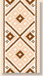 Tablecloths, free cross stitch patterns and charts - www.free-cross-stitch.rucniprace.cz