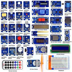 Adeept New 42 Modules Ultimate Sensor Starter Kit for Arduino UNO R3 Processing #Adeept