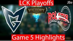 Playoffs: KT vs SSG Game 5 Highlights LCK Playoffs Round 2