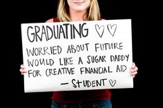 sugar daddy sites target college students for sugar daddies and mommas Hard To Concentrate, University Girl, Part Time Jobs, Sugar Baby, Journalism, College Students, Daddy, Stress, Education