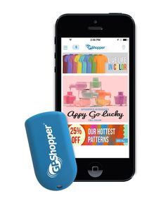 The GPShopper App & In-Store Beacons Enhance Retail Engagement #locationbased trendhunter.com