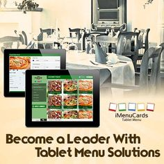 Lead the way with tablet menu solutions! Know more here: http://www.imenucards.in  #imenucards #tabletmenu #digitalmenu