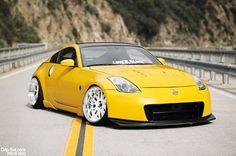 Yellow Hellaflush Nissan - Stance Nation