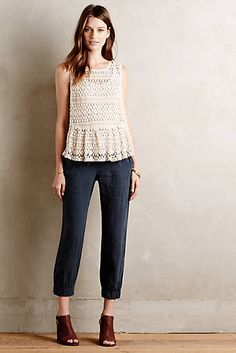 Drawstring Linen Joggers $118.00  http://www.anthropologie.com/anthro/category/cargo++chino/clothes-pants-casual.jsp;jsessionid=D2F3B0D906003A0270A862D829E22D0B.anphlpapp01-store02#/