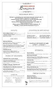 Chez MaximS French Restaurant Dinner Menu Paris France