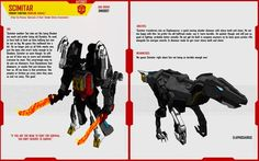 DINOBOT SCIMITAR by F-for-feasant-design.deviantart.com on @deviantART