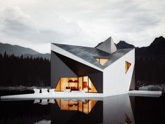Crown House by 81.WAW.PL