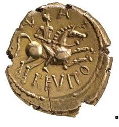 Iron Age gold coin of Anarevito and Eppillus Kent, England, about 10 BC - AD 20 This unique gold coin refers to an Iron Age British king called Anarevito. The Birth Of Christ, Coin Shop, Gold And Silver Coins, Antique Coins, Gold Bullion, Metal Detector, Iron Age, World Coins, Dollar Coin
