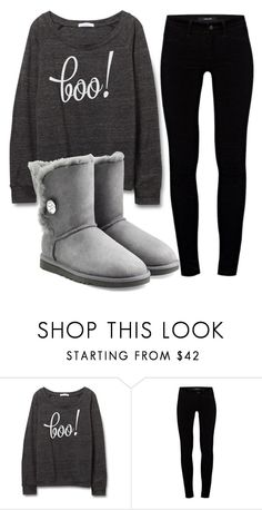 """Untitled #161"" by cupcakequeen111 ❤ liked on Polyvore featuring J Brand and UGG Australia"