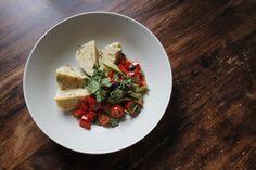 Südtiroler Kasknödel mit Salat (recipe on zsa-zsa-zsu.de) #vegetarian #vegan #foodporn #yammi #german