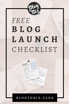 Bulletproof Blog Launch Checklist of 18 Essential Things You Will Need to Have Make Blog, How To Start A Blog, Make Money Blogging, Blogging Ideas, Blog Topics, Online Entrepreneur, Blogger Tips, Marketing, Blogging For Beginners