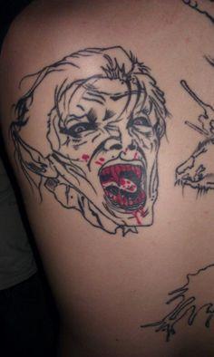 CALABRESE Fan Tattoo!  www.CalabreseRock.com #CALABRESE #Band #Tattoo #DarkRock #PunkRock #DeathRock