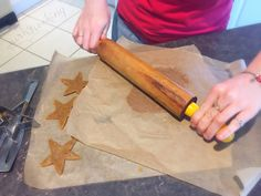 Grain Free Gingerbread Stars, Quirky Cooking