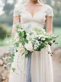 Blue & Grey French inspired Wedding Ideas via Magnolia Rouge