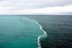 5 spettacolari posti nel mondo dove due mari si incontrano ma non si mescolano mai | Spiaggia.Piksun.com