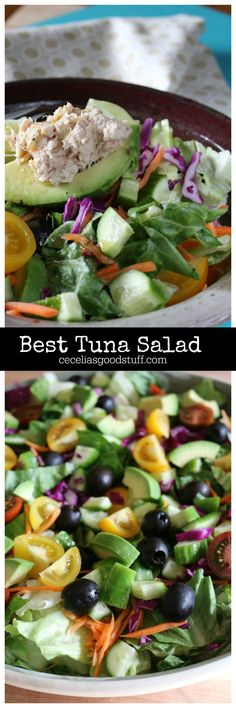 Best Tuna Salad - Healthy and Delicious - http://ceceliasgoodstuff.com/the-perfect-tuna-saladwww.ceceliasgoodstuff.com