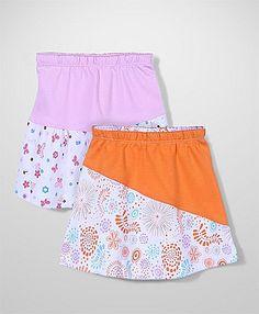 Tango Skirt Multiprint Orange And Pink - Set of 2 http://www.firstcry.com/tango/tango-skirt-multiprint-orange-and-pink-set-of-2/829438/product-detail