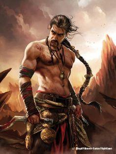 """""""Khal Drogo"""" by Magali Villeneuve"""